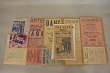Group of Theater Hand Bills- Shirley Temple and more