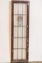 Lot of Four American Prairie School Windows