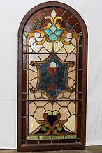American Art Stained Glass Window