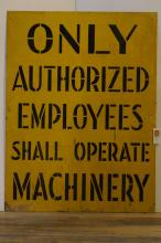 American Factory Sign