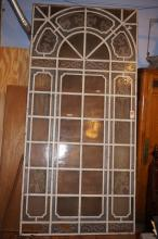 Argentine Art Glass Decorative Window