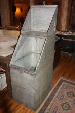 American Industrial Cabinet with Lid