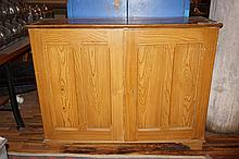American Grain Painted Cabinet