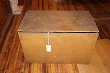 American Primitive Blanket Chest