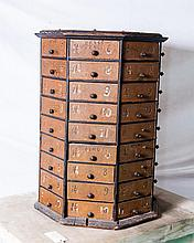 American Multi Drawer Hardware Cabinets