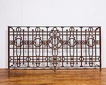 Argentina Decorative Wrought Iron Panel