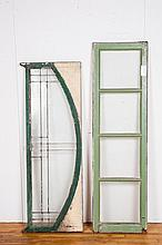 Lot of Two Antique Windows