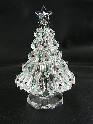 Crystal World Christmas Tree