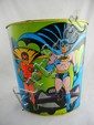 1966 Batman & Robin Metal Waste Basket