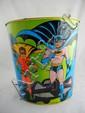 1966 Batman & Robin Metal Waste Basket