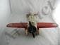 Lockheed Sirius Metal Push Toy Plane