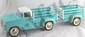 Tonka 1960's Light Blue Truck with Rack and Trailer