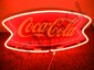 Reproduction Coca-Cola Bow Tie Neon Sign