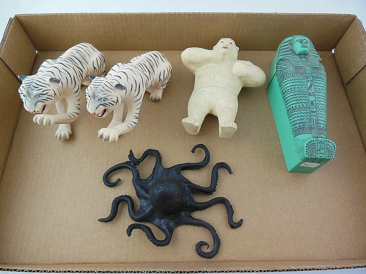 5- GI Joe Animals, 8- US Navy Life Rafts, and Other Access.