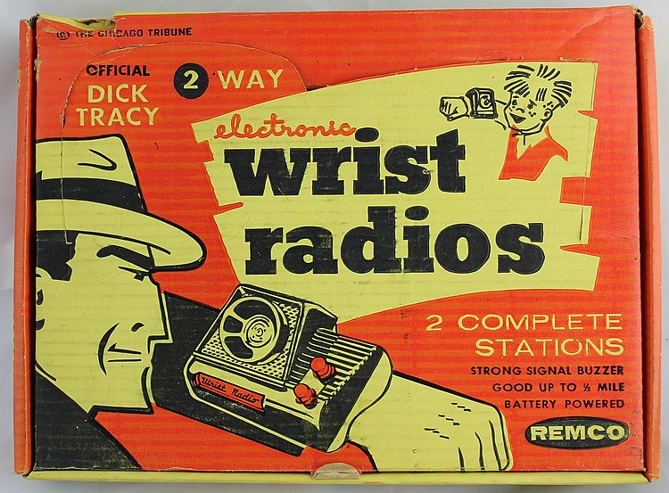 Dick Tracy Wrist Radio, MIB