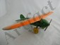Wyandotte Lockheed Vega Plane (Orange and Green)