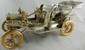 Ford Sterling Silver Model T Touring Car with Precious Stone Lights- 196 Ounces