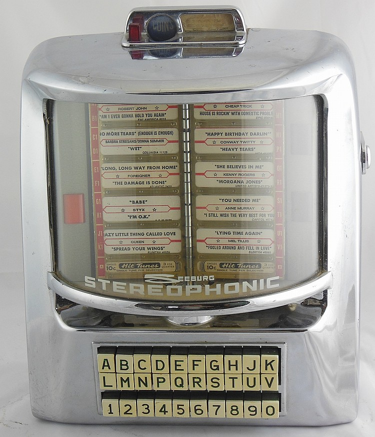 Seeburg Stereophonic Table Top Jukebox