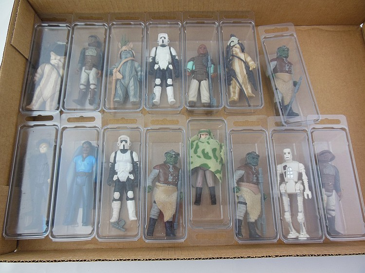 15- 1980's Star Wars Action Figures