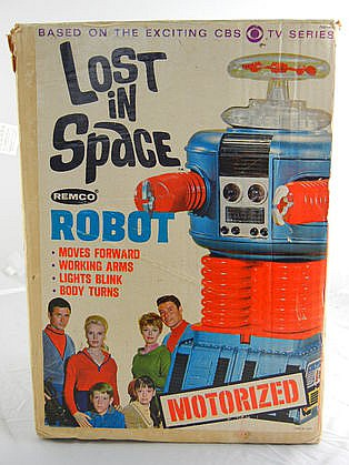 1966 Remco Lost in Space Robot w/ Box and Instructions