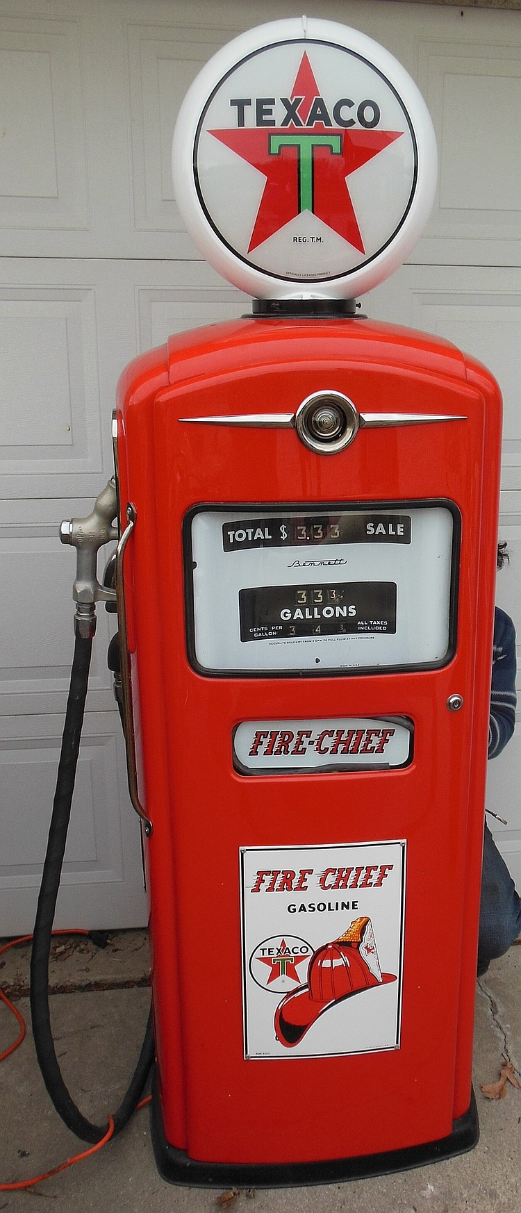 Texaco Fire Chief Gas Pump, Restored