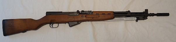 Yugoslavian SKS 7.62x39 Rifle, Folding Bayonet, Grenade Launcher