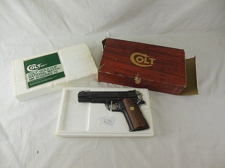Colt Gold Cup National Match MK IV/Series 70 Pistol