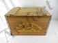 John Deere Reproduction Wood Parts Box