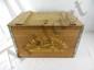 John Deere Reproduction Wood Parts Box
