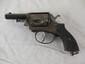 5 Shot Revolver w/ European Haulmarks, Two Swords BBF