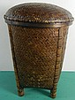 Philippines Woven Container/Basket w/ Lid