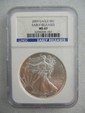 2009 Silver Eagle Early Release NGC MS 69