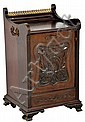 ANTIQUE VICTORIAN COAL BIN