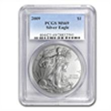 2009 Silver American Eagle - MS-69 PCGS