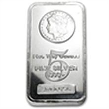 5 oz Morgan Design Silver Bar .999 Fine