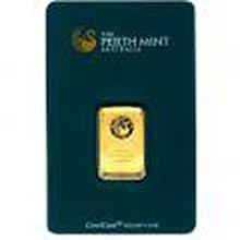 Gold Bars: Perth Mint 10 Gram Gold Bar
