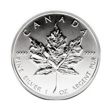 Canadian Silver Maple Leaf 1989