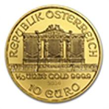 2014 1/10 oz Gold Austrian Philharmonic