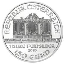 Austrian Philharmonic Silver One Ounce 2010