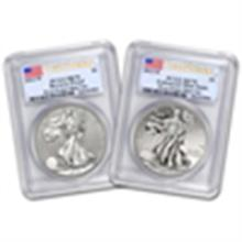 American Silver Eagle West Point Set PCGS 70 First Stri