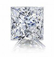 GIA CERT 0.5 CTW Princess DIAMOND E/VS1