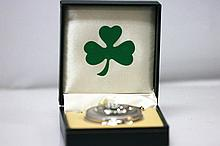 Collectors Edition Silver Tone Irish Claddagh Trinity P