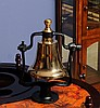 Vintage Style Brass Victory Bell
