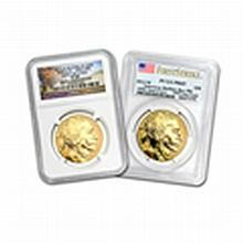 2013-W 1 oz Rev Proof Gold Buffalo Proof-69 PCGS/NGC (R