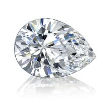 EGL CERT 1.04 CTW PEAR SHAPED DIAMOND F/SI2