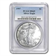 1998 Silver American Eagle - MS-69 PCGS - Low Pop Coin