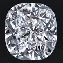 EGL CERT  0.97 CTW  Cushion DIAMOND E/SI2