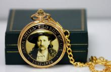 AMERICAN WILD BILL ADDITION GOLD POCKET WATCH