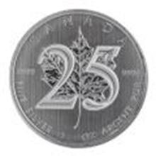 Canadian Silver Maple Leaf 2013 - 25th Anniversary