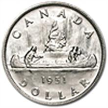 Canada Dollar Silver Almost Uncirculated (DATE OF OUR C